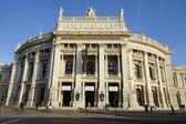 Burgtheater (Imperial Court Theater) — Stok fotoğraf