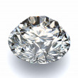 Diamond on white background with high quality - Photo