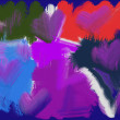 Abstract background painting - Foto de Stock