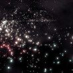 Starry night — Stock Photo #18511903