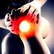 knee pain — Stock Photo #23190574