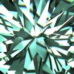 Abstract digital diamond background — Stock Photo
