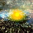Stock Photo: Galaxy in outer space