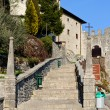 Stock Photo: Castelmonte sanctuary staircase, Cividale del Friuli. Udine, It
