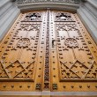 Church wooden door — Stock Photo #14685605