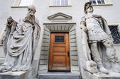 Entrance to St. Gallen chapel — Stock Photo