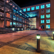 Stock Photo: Modern architecture in Zurich at night