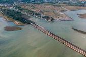 Bridge connecting Venice with the inland. Italy — Stockfoto