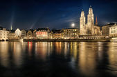 Grossmuenster in Zurich — Stock Photo