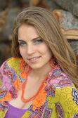 Young pretty woman portrait — Stock Photo