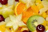 新鮮な各種フルーツ — ストック写真