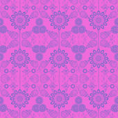 Bright Floral Pattern — Stock Photo