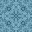 Vintage Blue Floral Tapestry Pattern — Stock Photo #12121648