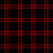 Black & Red Plaid — Stock Photo