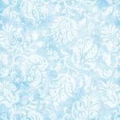 ヴィンテージの淡いブルーの花のタペストリー — ストック写真