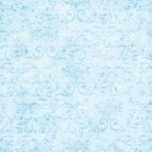 Vintage Pale Blue Floral Tapestry — Stock Photo