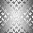 Seamless Silver Stars — Stock Photo #12493930