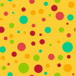 Seamless Bright Multi Polka Dot — Stock Photo #12529205