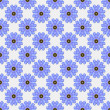 Stock Photo: Seamless Blue Floral Background