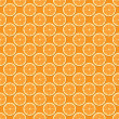 Seamless Oranges Background — Stock Photo