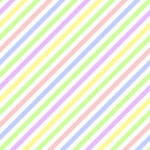 Seamless Pastel Diagonal Stripe — Stock Photo