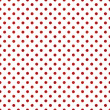 Seamless Red & White Polka Dot — Stock Photo