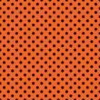 Seamless Bright Polka Dot Pattern — Stock Photo