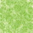 Vintage Light Green Floral Tapestry — Stock Photo