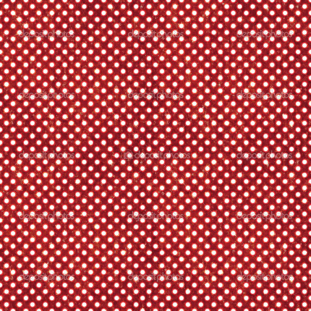 发光小白色圆点深红色带纹理的背景上.无缝– 图库图片