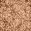 Vintage Brown Floral Tapestry — Stock Photo #13286784