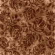 Vintage Brown Floral Tapestry — Stock Photo #13305114