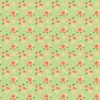 Stock Photo: Peach & Green Floral