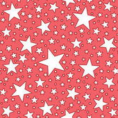 Seamless Star Pattern — Stock Photo