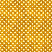 Seamless Gold & White Polka Dot — Stock Photo