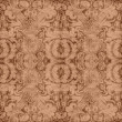 Stock Photo: Vintage Brown Tapestry