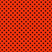 яркий красный & черный уругвайская модель — Стоковое фото