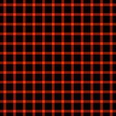 Seamless Red & Black Plaid — Stock Photo