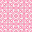 Seamless Pink & White Retro Damask Pattern — Foto Stock #13612763