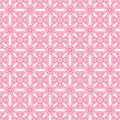 Stock Photo: Seamless Pink & White Retro Damask Pattern