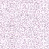 Seamless Lavender & White Damask — Stock Photo