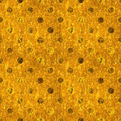 Seamless Shiny Gold Polka Dot — Stock Photo