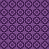 シームレスな紫の花の背景 — ストック写真