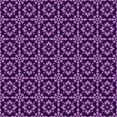 Seamless Purple Floral Background — Stok fotoğraf