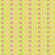 Seamless Bright Abstract Floral — Foto de Stock