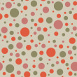 Seamless Dots Background — Stock Photo