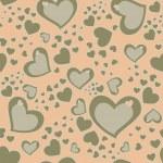 Seamless Hearts Background — Stock Photo #14583521