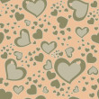 Seamless Hearts Background — Stock Photo #14583521