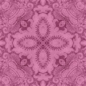 Vintage Pink Floral Tapestry — Stock Photo