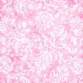 Vintage Pale Pink Floral Tapestry — Stock Photo