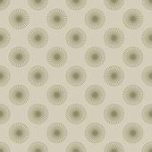 Sömlös blomma spiraler — Stockfoto